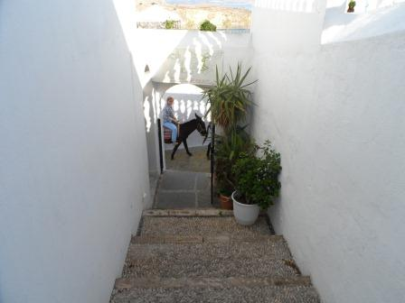 Apostolos Studios - steps that takes you to the studios worth the climb for the views from here
