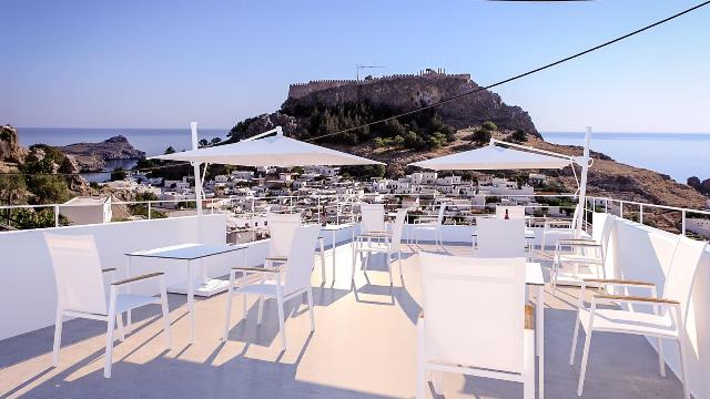 Comfy Suites - Sky Bar on the Roof Terrace for breakfast, lunch and drinks