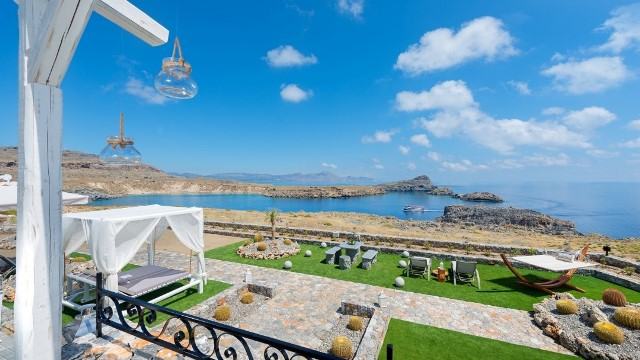 Welcome to Lindos Villa Vigli with breath taking views