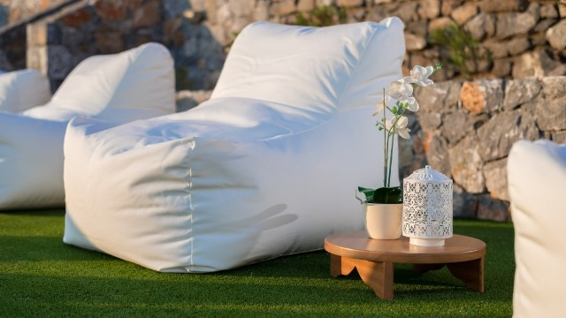 Lindos Vigli Villa - Lounge on the bean bag and have a snooze