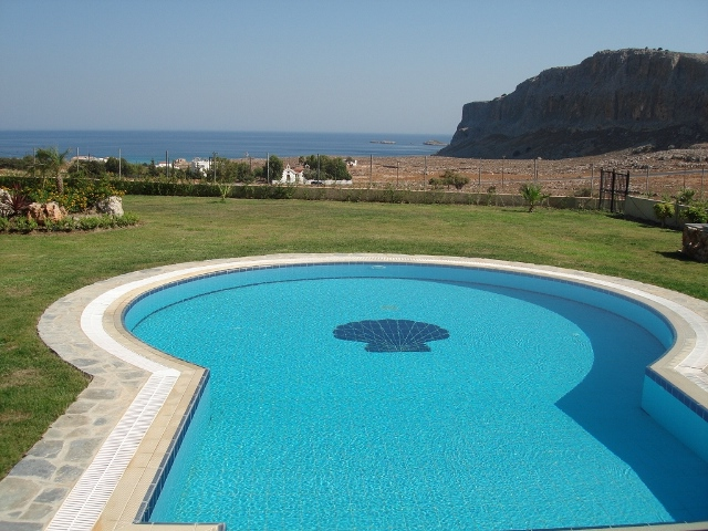 Seaview Villas - Private pool with amazing sea views of the bay